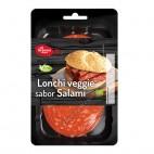 Lonchas Veggie Rosso (sabor salami), 100g. El Granero
