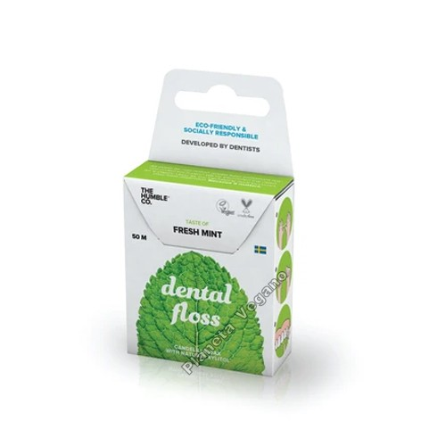 Hilo Dental Vegano con Menta Fresca, Dental Floss