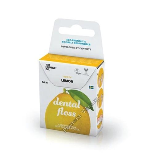 Hilo Dental Vegano con Limón, Dental Floss
