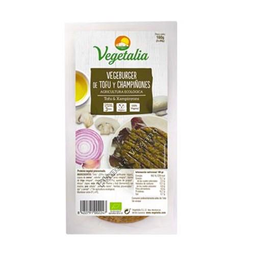 VegeBurger de Tofu y Champiñones, 160g. Vegetalia
