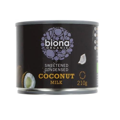 Leche Condensada de Coco, 210 g. Biona