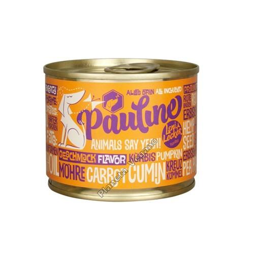 Pienso Vegano Húmedo para Perros, 200 g. Pauline