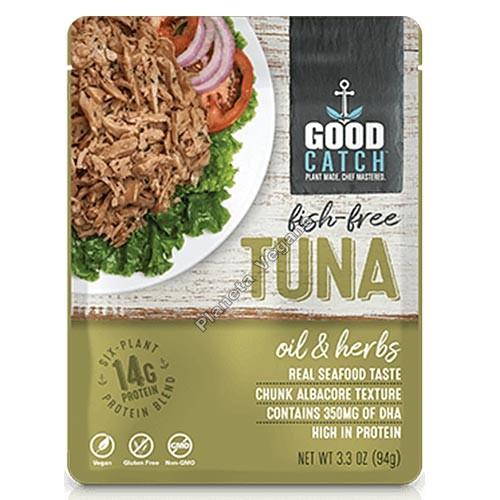 Atún Vegano al aceite y hierbas, 94 g Good Catch