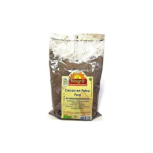 Cacao en Polvo Puro Biológico. 250 g. Biográ