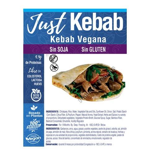 Veggie Doner Kebab, 300g. Just Vegan