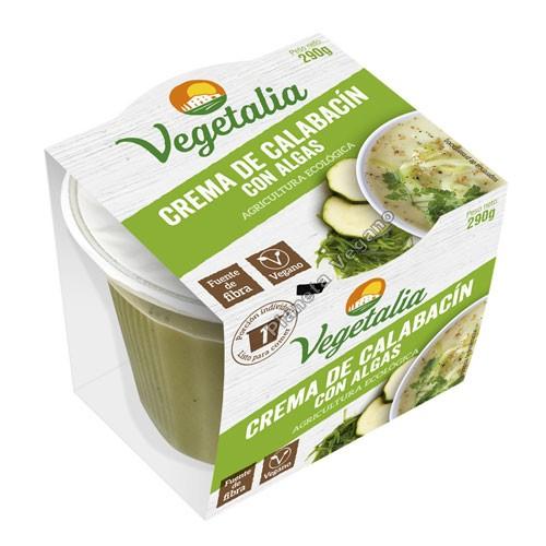 Crema de Calabacin con Algas, 290g. Vegetalia