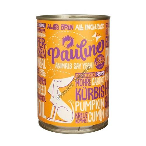 Pienso Vegano Húmedo para Perros, 400 g. Pauline