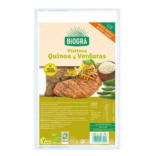 Vistteca de Quinoa y Verduras. 90g. Biográ