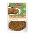Veggie Burger de Quinoa, Masala y Dátil, 200g. Natursoy