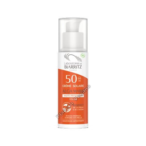 Protector Solar Alga Maris SPF 50, 50 ml Biarritz
