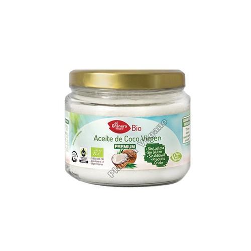 Aceite de Coco Virgen Bio, 250 ml. El Granero