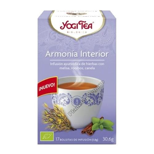 Yogi Tea Armonía Interior 30,6g.