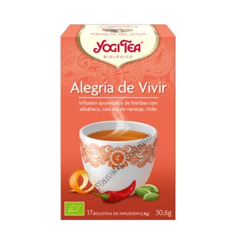 Yogi Tea Alegría de Vivir 30g.
