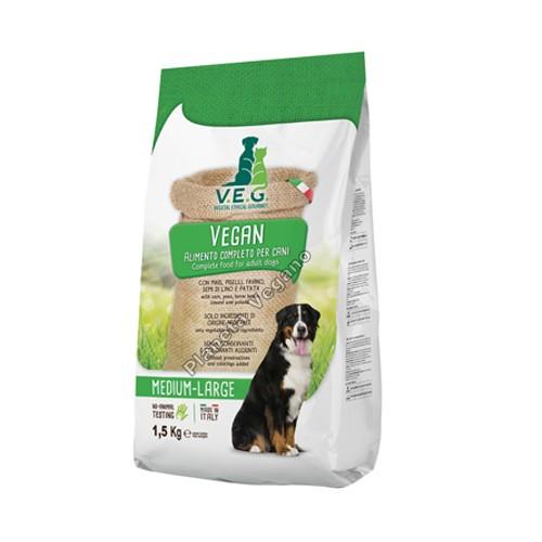Pienso Vegano para Perros, 1.5 Kg. V.E.G.
