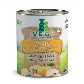 Pienso Vegano Humedo para Perros de Patatas, Manzana y Alubias, 150g. V.E.G.
