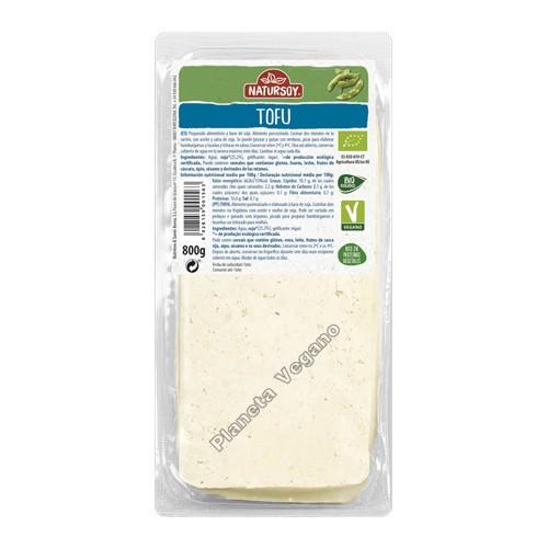Bio Tofu Natural, 800g Natursoy