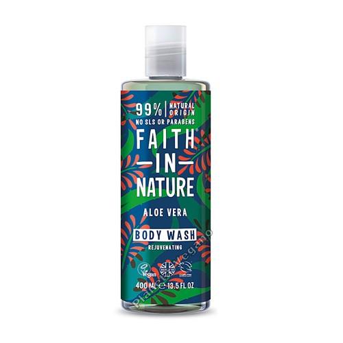 Gel de baño de Aloe Vera 400 ml Faith in Nature