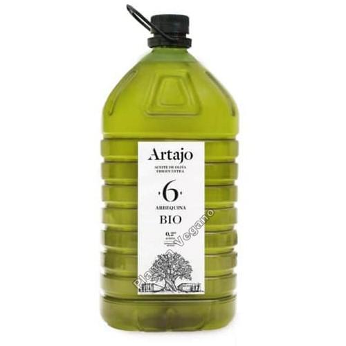Aceite de Oliva Virgen Extra Ecológico 5L. Artajo