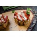 Tiras de Bacon Vegano sin glúten, 400g. Divina Teresa