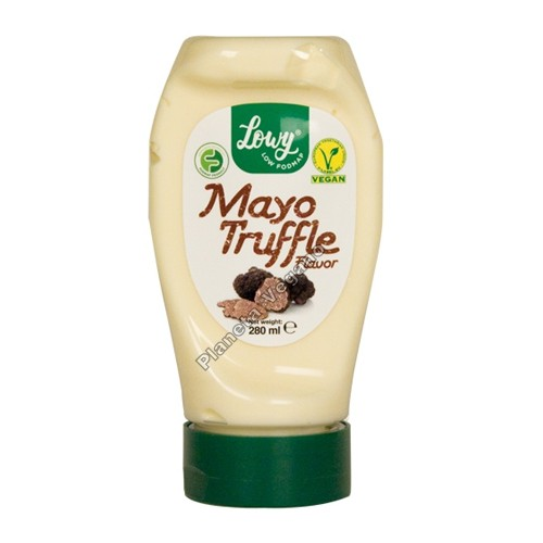 Mayonesa Vegana sabor Trufa, 280ml. Lowy