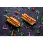 Salchichas Veganas Hot Dog, 200g. Happy Planet