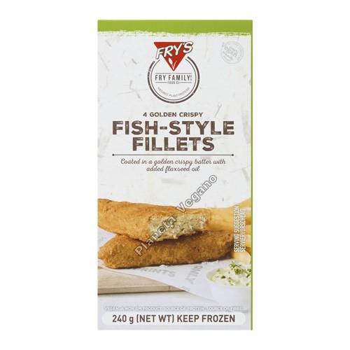 Filetes de Pescado Vegano de Frys Family, 240g