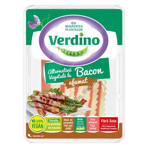 Tiras de Bacon Vegano Ahumado, 350g. Verdino