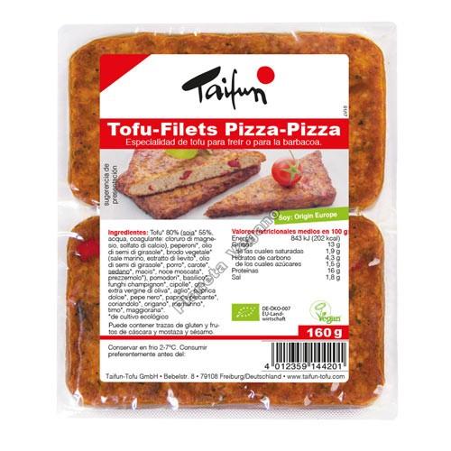 Filetes de Tofu Pizza-Pizza, 160g Taifun