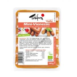 Salchichas Mini Vinesas de Tofu, 160g. Taifun