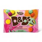 Botones de Colores Rellenos de Chocolate, 30g D&Ds