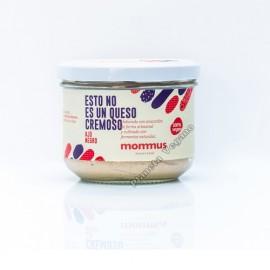 No- Queso Vegano Cremoso sabor Ajo Negro 190g Mommus