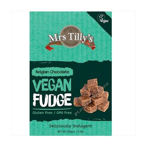 Caramelo Vegano de Azúcar Recubierto de Chocolate, 150g. Mrs Tilly`s
