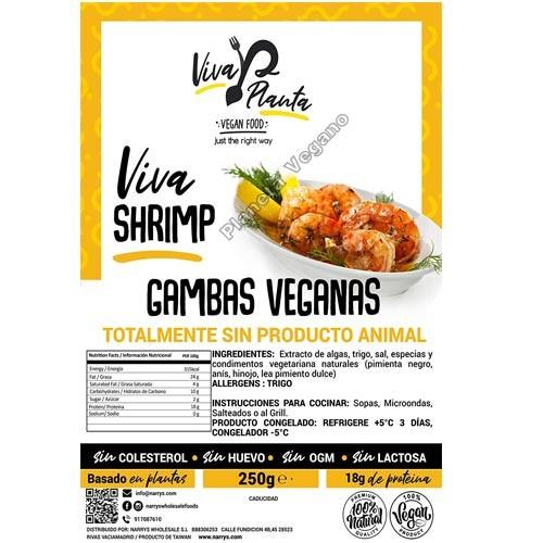 Gambas Veganas, 250 g. Viva Planta