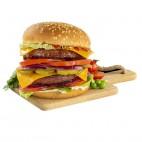 Burger Vegana, 220g. Verdino
