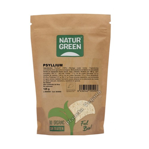 Psillyum, 125g. Naturgreen