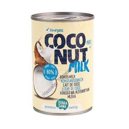 Leche de Coco, 400 ml. Terrasana