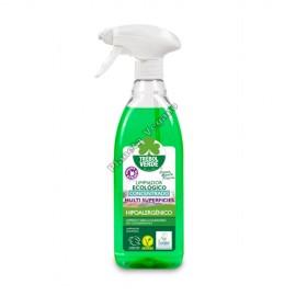 Limpiador Concentrado Multisuperficies, 750 ml. Trébol Verde