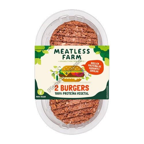 Hamburguesa Vegana, 227g. The Meatless Farm