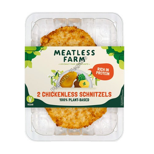 Escalopes Veganos, 200g. The Meatless Farm