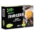 Burger Vegana sabor a Pescado, 180 g. Vegan Novish