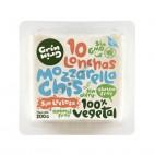 Queso Vegano Sabor Mozzarella en lonchas, 200g Grin Grin