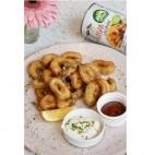 Calamares Veganos, 425g. Nature´s Charm