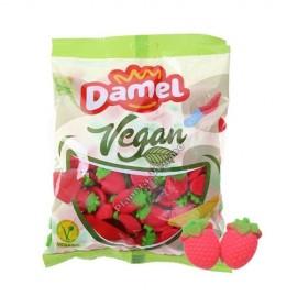 Gomitas Vegetales con forma de Fresa sabor a Frutas, 1Kg. Damel