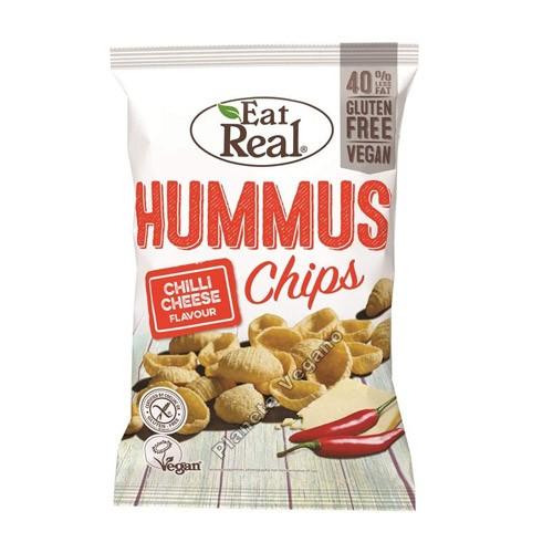 Snack de Hummus con Chili, 45g. Eat Real