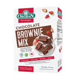 Mezcla para Brownie sabor Chocolate, 400g. Orgran