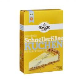 Mezcla para hacer Tartas de Queso Vegano, 485g. Bauckhof