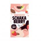 Barritas de Chocolate rellenas de Fresa (Schakaberry), 100g. V.F.