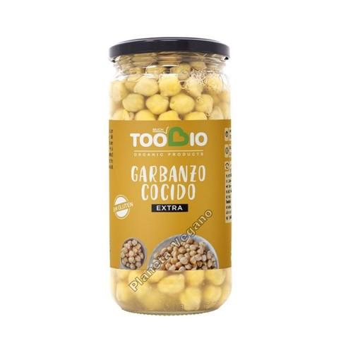 Garbanzos Cocidos, 660g. Toobio