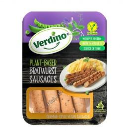Salchichas Veganas estilo Bratwurst, 200g. Verdino