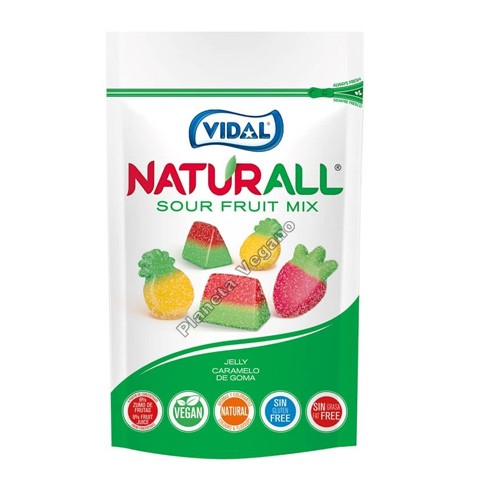 Gomitas Vegetales sabor a Frutas (Fruit Mix), 180g. Vidal